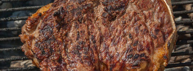 Aide à la cuisson d'une viande côte de boeuf