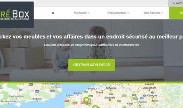 Carrebox, entreprise de stockage de meubles à Lille