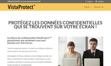 Préférez les filtres de confidentialité de VistaProtect