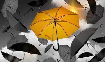 Parapluie résistant