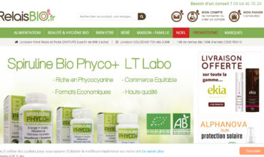 Relais Bio, magasin spécialisé dans la distribution des produits biologiques