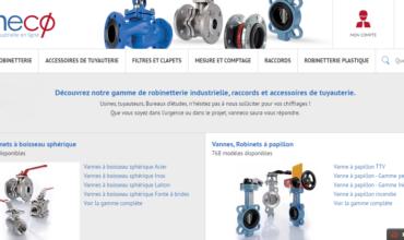Robinetterie pour entreprises industrielles sur Vanneco.fr