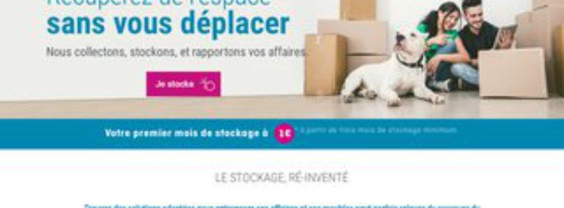 Box de stockage à bas prix en plein cœur de Paris