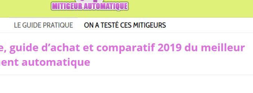https://www.mitigeur-automatique.fr