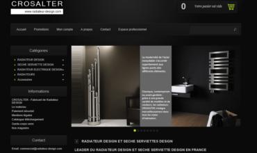 Crosalter : leader français des appareils de chauffage design