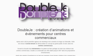Double Je, créateur d'événements pour centres commerciaux