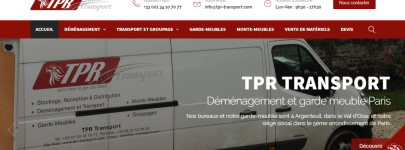 TPR Transport, votre partenaire idéal pour le déménagement
