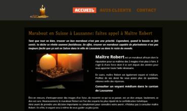 Maître Robert : voyant médium à Lausanne
