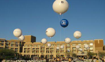 Location bouteille d'hélium pour ballon publicitaire