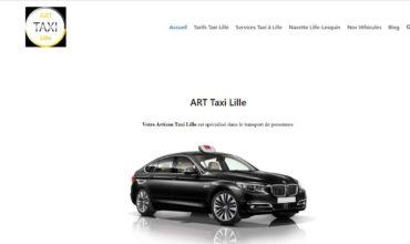 Art-taxi : société de transport en taxi à votre service à Lille