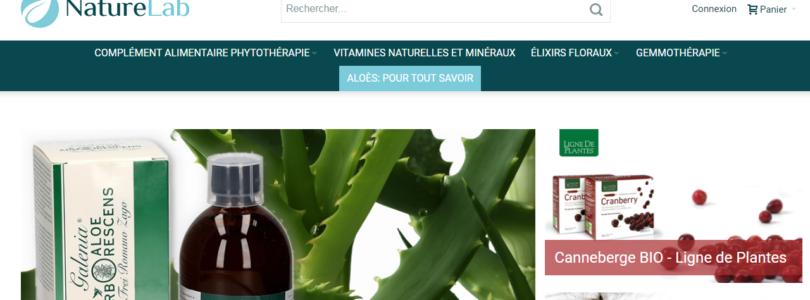 NatureLab : votre boutique virtuelle de compléments alimentaires