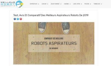 Aspirateur robot: comparatif des meilleurs robots aspirateur du moment