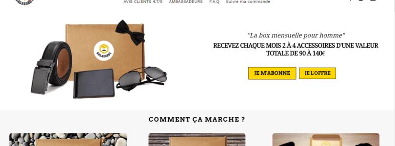 Badassbox : la box mensuelle des hommes à la mode