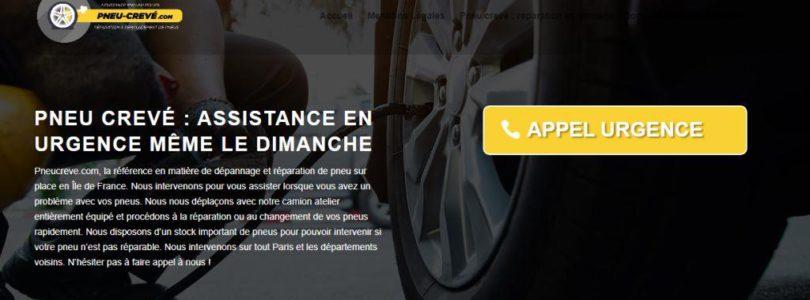 Pneu-creve.com : pneu altéré, un service de qualité