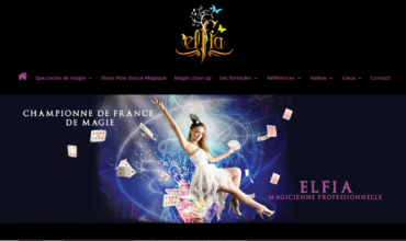 Elfia magicienne : spectacle de magie, close-up et mentaliste