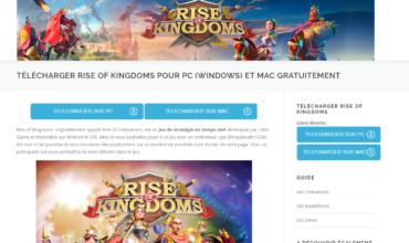 Rise of Kingdoms : jeux vidéo de stratégie en temps réel