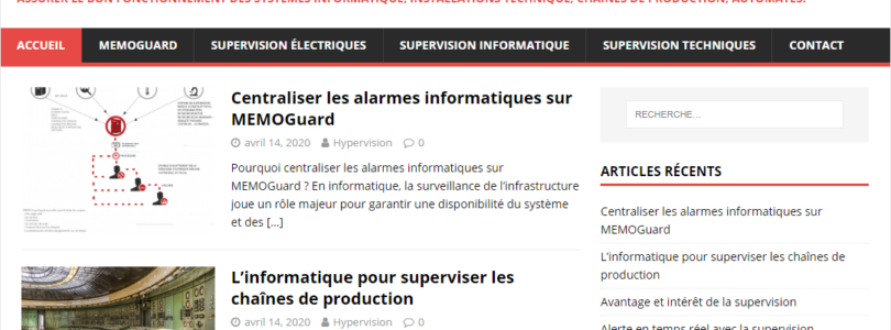 Solution de supervision informatique