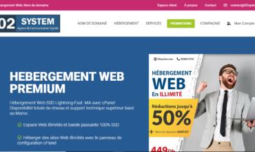 02 System : agence de communication digitale au Maroc