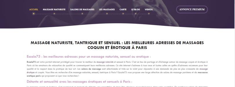 Annuaire des centres de massage naturiste à Paris
