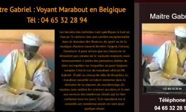 Maître Gabriel, voyant médium et marabout africain en Belgique