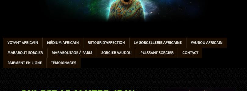 Maître Jean Kaloga: Marabout africain à Paris