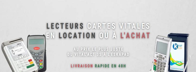 LIBER'MÉDICAL : achat et location de lecteur de cartes vitales