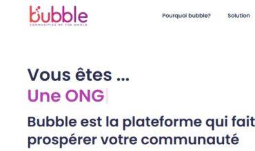 Bubble: une plateforme pour votre communauté