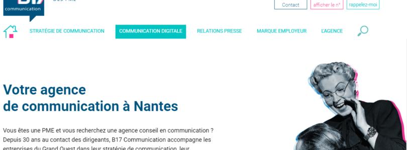 B17 : votre agence de communication à Nantes